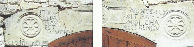 Linteau 1770